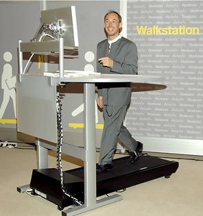 The Walkstation.