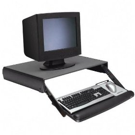 3M Adjustable Keyboard Monitor Stand and Drawer