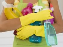 Clean surfaces and doorknobs, phones and counters