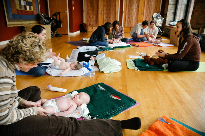 Infant Massage Classes: Great Stress Relief for Babies AND Parents ...