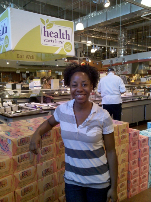 Lorian Bates, Working Well Massage Therapist inside Whole Foods Market