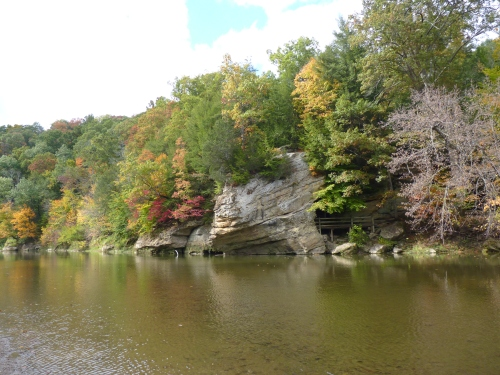 Turkey Run State Park. Photo by Sue Shekut.