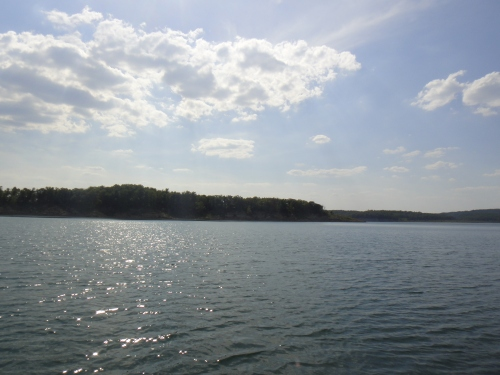 Peace and quiet at Bull Shoals Lake, MO. Photo by J. Porys Photography.