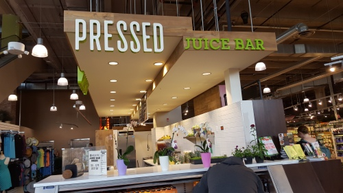 Whole Foods Market-Lincoln Park, New Pressed Juice Bar