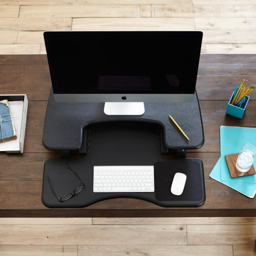 Varidesk ProPlus can sit on top of your regular desk