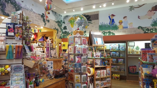 Excellent books, cards and toys at Magic Tree Bookstore
